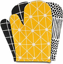 Sophie Nordinn ® Oven Gloves Lines Yellow - Heat