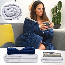 Soporis Adult Weighted Blanket with Cover -