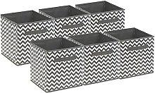 Sorbus Foldable Storage Cube Basket Bin (Pack of