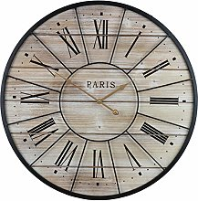 Sorbus Paris Oversized Wall Clock, Centurion Roman