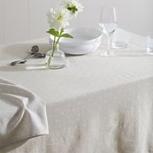 Soren Tablecloth , Grey White, One Size