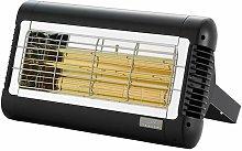 Sorrento 1.5kW Quartz Infra-Red Heater - Black -
