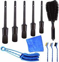 SOSPIRO Car Detail Cleaning Brushes Kit 11Pcs