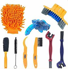 SOTOPONE 9pcs Bicycle Cleaning Tool, Bicycle