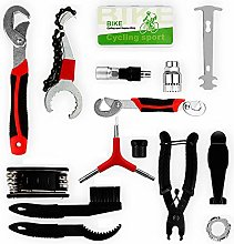 SOTOPONE Bicycle Tool Kit, 16 in 1 Bicycle Set