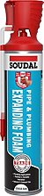 Soudal Gun Genius Pipe & Plumbing Foam 600ml