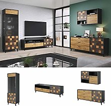 Soul BMF Set 4 Wall Unit TV Stand Sideboards Tall