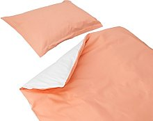 SoulBedroom Baby Peach Pink & White 100% Cotton