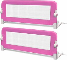 SOULONG 2 pcs Toddler Safety Bed Rail, Portable