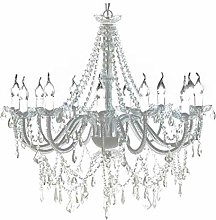 SOULONG Crystal Ceiling Chandelier, Royal Crystal