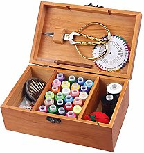 soundwinds Wooden Sewing Box Vintage Sewing Basket