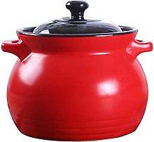 Soup Casserole,Ceramic Cooking Pot Non-Stick