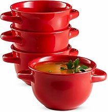 Soup Crocks with Handles, Soup Bowls, Oven Safe,