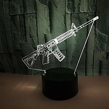 Source Gun Type 3D Led 3D Night Light Color 3D
