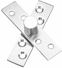 sourcing map 10 Sets Stainless Steel 360 Degree