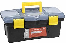 sourcing map 14-inch Tool Box Plastic Tool Box