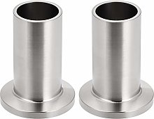 sourcing map 304 Stainless Steel Fitting Long Weld