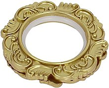 Sourcing Map a15051500ux0467 Gold Tone Flower