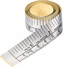 sourcing map Adhesive Backed Tape Measure 152cm 60