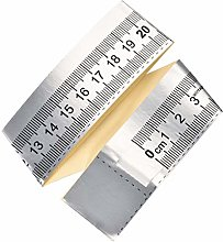 sourcing map Adhesive Backed Tape Measure 25cm
