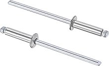 sourcing map Blind Rivets 304 Stainless Steel
