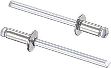 sourcing map Blind Rivets 304 Stainless Steel 4mm
