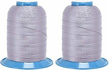 sourcing map Bonded Polyester Threads 656 Yards