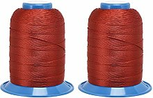 sourcing map Bonded Polyester Threads 710 Yards