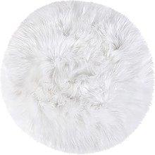 sourcing map Faux Sheepskin Area Rug Indoor Soft