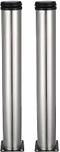 sourcing map Furniture Legs Stainless Steel