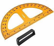 sourcing map Geometry Measurement Tool Plastic