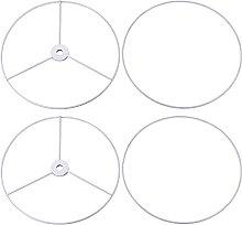sourcing map Lamp Shade Ring, 200mm Dia. Lampshade