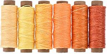 sourcing map Leather Sewing Thread Set 55 Yards