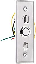 sourcing map Push Button Switch Door Open Access