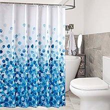 sourcing map Shower Curtain Set Farmhouse Fabric