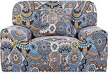 sourcing map Stretch Sofa Cover Printed Couch