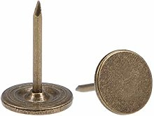 sourcing map Upholstery Nails Tacks 11mmx17mm Flat