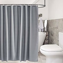 sourcing map Waffle Weave Fabric Shower Curtain 72