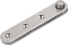 sourcingmap 60mm Length Metal 360 Degree Rotatable