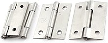 Sourcingmap a14092200ux1040 Hinge - Silver (5