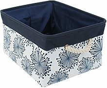 sourcingmap Collapsible Storage Basket Bins with