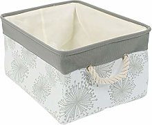 sourcingmap Collapsible Storage Baskets Bin,