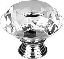 sourcingmap Diamond Shape Crystal Glass 30mm