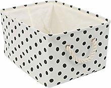 sourcingmap Fabric Storage Basket Bins for Toy