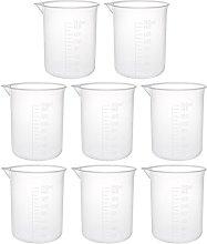 sourcingmap Measuring Cup 150ml PP Plastic