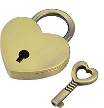sourcingmap Metal Heart Shaped Luggage Cabinet
