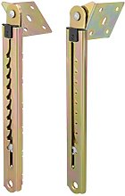 sourcingmap Pair Double Angle Lifting Rod Desk 10