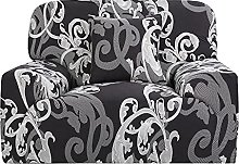 Sourcingmap Printed Sofa Cover Stretch Couch