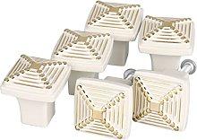 sourcingmap Set of 6 Modern Simple Metal Furniture
