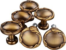 sourcingmap Set of 6 Traditional Oil Rubbed Bronze